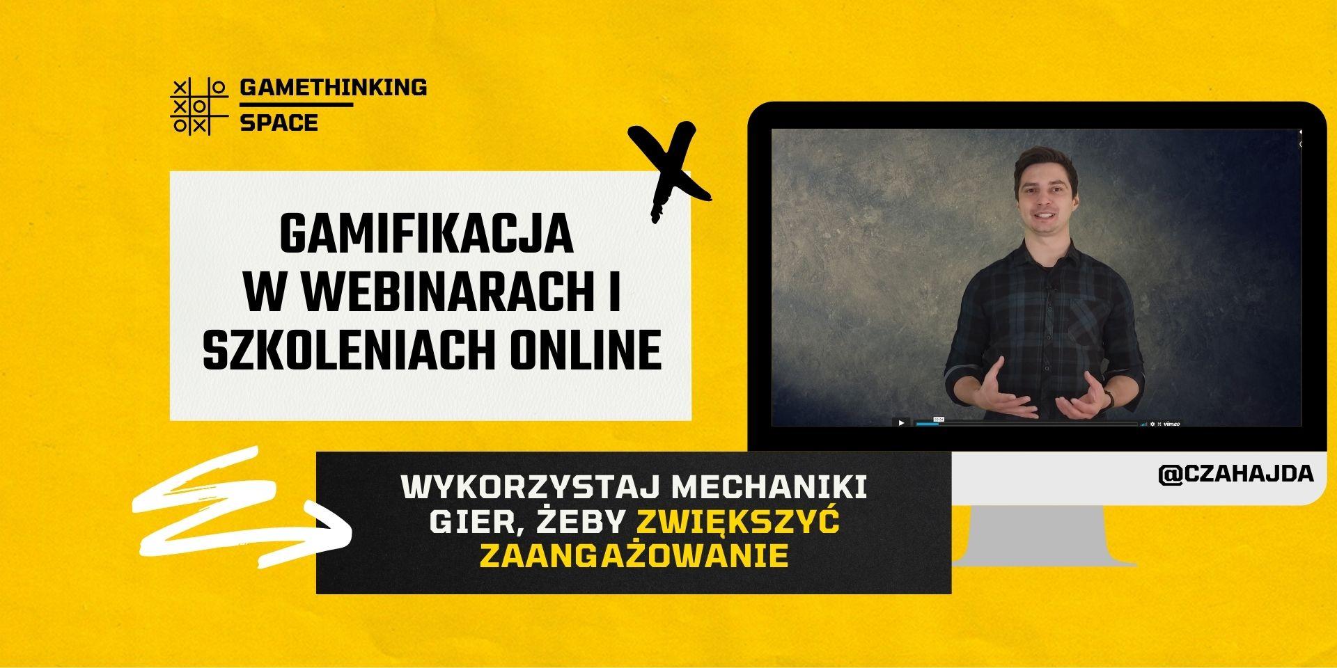 Gamifikacja w webinarach i szkoleniach online